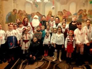 Центр «Благо» організовує поздоровлення дітей з Днем Св. Миколая