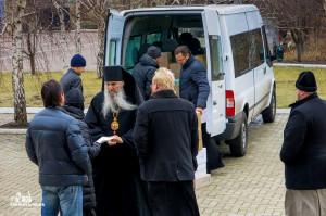 Гуманитарная помощь для мирных жителей востока Украины, собранная в Одесской епархии, прибыла по месту назначения