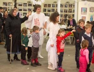 В Киеве организовали праздник для переселенцев из зоны АТО