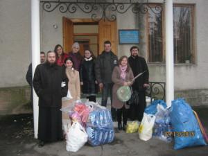 ЗАПОРІЖСЬКА ЄПАРХІЯ. Допомога переселенцям від Свято-Микольського жіночого монастиря