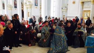 ОДЕССКАЯ ЕПАРХИЯ. В Спасо-Преображенском кафедральном соборе был совершен молебен о Мире в Украине