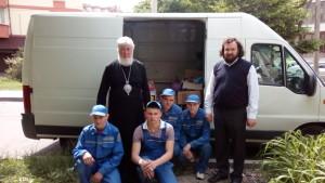 РІВНЕНСЬКА ЄПАРХІЯ. Допомагає жителям Луганщини