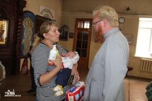 ОДЕССКАЯ ЕПАРХИЯ. В епархии была оказана помощь 410 семьям переселенцев с востока Украины и нуждающихся одесситов