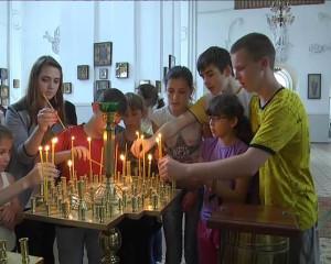 СУМСЬКА ЄПАРХІЯ. В Охтирку завітали діти з Донбасу