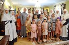 Блаженніший Митрополит Онуфрій благословив дітей-сиріт із зони АТО