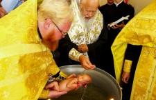 ОДЕССКАЯ ЕПАРХИЯ. Митрополит Агафангел совершил таинство Крещения уникальных младенцев-пятерняшек