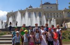 КИЇВСЬКА ЄПАРХІЯ. У Білогородському благочинні було організовано відпочинок для дітей з малозабезпечених сімей і родин учасників АТО