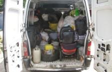 ВОЛИНСЬКА ЄПАРХІЯ. Віряни Рожищенського району зібрали допомогу біженцям, що перебувають у Святогірській Лаврі