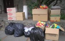 КИЕВСКАЯ ЕПАРХИЯ. Посетили общество инвалидов «Единство» и Дом социальной опеки