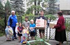 КИЕВСКАЯ ЕПАРХИЯ. Помощь переселенцам из Донбасса от Кафедрального собора УПЦ
