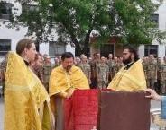 БОРИСПІЛЬСКА ЄПАРХІЯ. Священики відвідали військову частину та передали провізію
