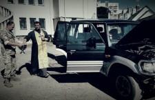 РІВНЕНСЬКА ЄПАРХІЯ. В Рівному військовим освятили автомобіль, що вирушить у зону АТО