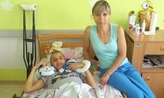 КИЇВСЬКА ЄПАРХІЯ. Православний центр для тяжкохворих та невиліковно хворих дітей взяв під опіку онкохворого Олександра з багатодітної родини