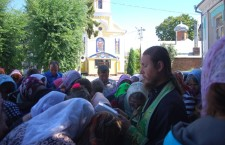 ВОЛИНСЬКА ЄПАРХІЯ. Волиняни із вадами зору вирушили у паломництво до Свято-Успенської Почаївської Лаври