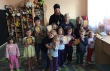 КИЇВСЬКА ЄПАРХІЯ. Прес-секретар Макарівського вікаріатства відвідав районний центр соцальної підтримки дітей і сімей