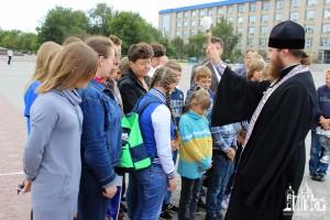 СЕВЕРОДОНЕЦКАЯ ЕПАРХИЯ. Благословение в паломницество детей-сирот