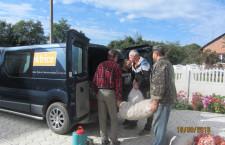 СУМСЬКА ЄПАРХІЯ. В Угроїдах завершилась благодійна акція по збору продуктів для воїнів АТО