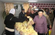 КИЕВСКАЯ ЕПАРХИЯ. Продуктовая помощь неимущим