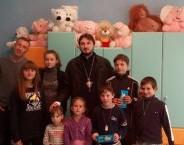 БОРИСПІЛЬСЬКА ЄПАРХІЯ. Настоятель відвідав дитячий будинок в селі Мокрець