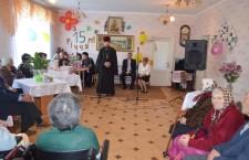 ХЕРСОНСЬКА ЄПАРХІЯ. Священик Херсонської єпархії прийняв участь у святі Чаплинського геріатричного пансіонату