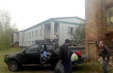 БОРИСПІЛЬСКА ЄПАРХІЯ. Співробітники єпархіального відділу відвідали сім'ї переселенців із Донбасу