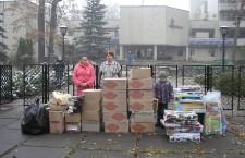 КИЕВСКАЯ ЕПАРХИЯ. Помощь переселенцам из Донбасса.