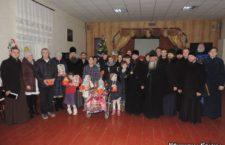 НІЖИНСЬКА ЄПАРХІЯ. Різдвяні привітання вихованцям Удайцівської спеціальної школи-інтернату