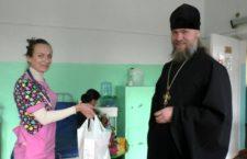 ЗАПОРІЗЬКА ЄПАРХІЯ. Благочинний Вільнянськ передав хворим дітям ліки