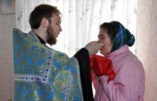ОДЕСЬКА ЄПАРХІЯ. В Одесі священик УПЦ причастив укладених в жіночій колонії та їх дітей