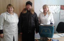 ЗАПОРІЗЬКА ЄПАРХІЯ. Подарунок для дитячого відділення в с. Константинівка