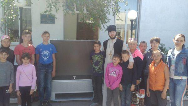 ХЕРСОНСЬКА ЭПАРХІЯ. Відвідування дітей з Старозбур'ївського спеціальної школи-інтернату