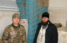 ВІННИЦЬКА ЄПАРХІЯ. Вінницька єпархія і волонтери передали гуманітарну допомогу у Вінницький військово-медичний центр