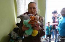 БЕРДЯНСЬКА ЄПАРХІЯ. Чергова гуманітарна допомога «кризовим мамам» від соціального відділу єпархії