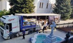Родина православних вінничан доставила свій 15-й гуманітарний вантаж у Святогірську Лавру